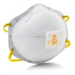 Khẩu trang lọc bụi 3M™ 8516, N95, làm giảm mùi hơi axít, 80 cái/thùng